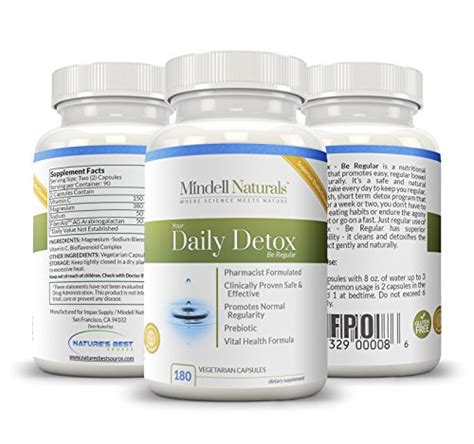 Daily Detox Drink For Weight Loss by Daily Detox Capsules And Colon Cleanse Pills