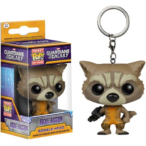 Funko Pop Keychain Guardians Of The Galaxy 2 Lord funko guardians of the galaxy rocket pop keychain at hobby warehouse