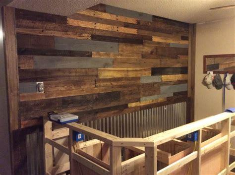 pallet wall   bar    step closer