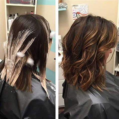 medium lentgh hair with highlights and low lights 40 blonde and dark brown hair color ideas hairstyles
