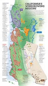 california wine map california mappery