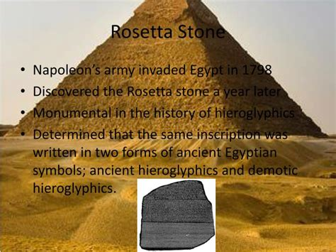 rosetta stone symbol xword ppt egyptian science medicine writing religion and