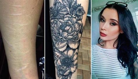 self harm tattoo cover up australian artist offers to cover up self harm