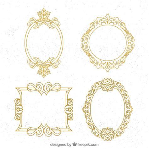 cornici ornamentali confezione di cornici ornamentali dorate scaricare