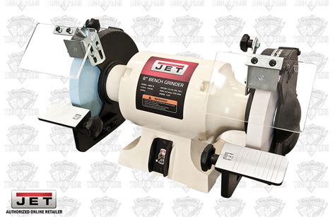 jet 8 bench grinder jet 726100 8 quot woodworking bench grinder 2 norton wheels