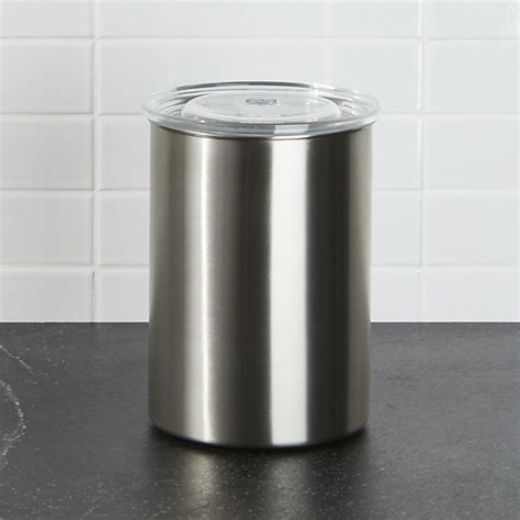 airscape kitchen canister airscape coffee canister reviews crate and barrel