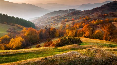 Ice City by Rhodope Mountains In Autumn Time Bulgaria Windows 10