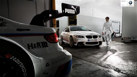 garage race bmw motorsport m series cars race garage 1920x1080 hd