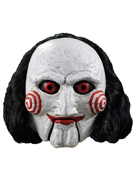 printable jigsaw mask billy the puppet saw mask buy online at funidelia