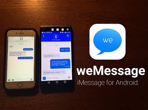 imessage for android apple s imessage available on android with third app called wemessage
