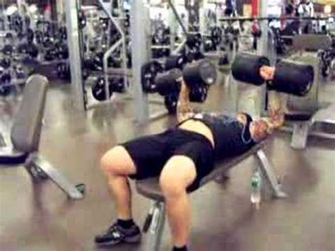 bench press wrist dumbell bench press with 150s and a bad wrist youtube