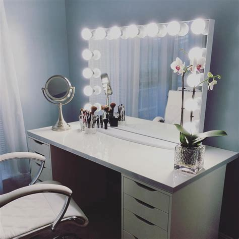 makeup vanity table with lights of makeup vanity table with lights makeupjournal