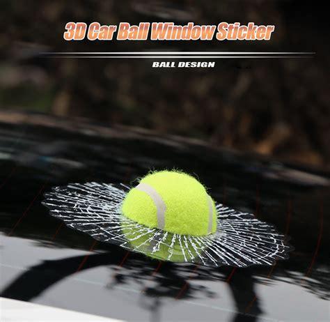 3d Untuk Stiker by Stiker 3d Mobil Model Bola Tenis Green Jakartanotebook