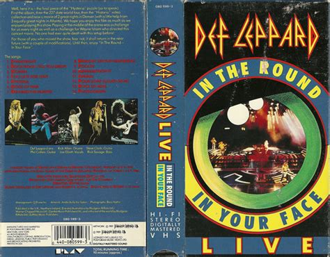 Vhs Def Leppard Archive vhs your home for high resolution scans of strange and forgotten vhs covers