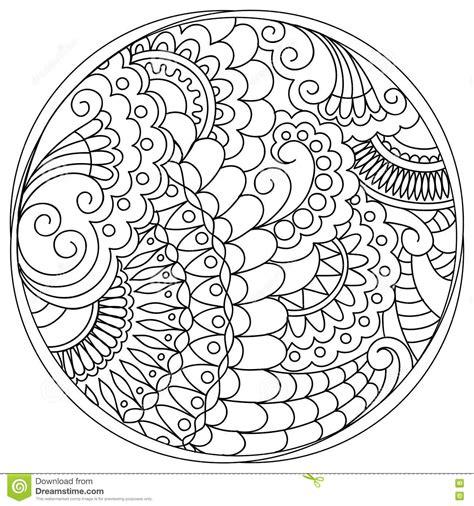 imagenes de mandalas con circulos mandalas enredadas y formas en el c 237 rculo ilustraci 243 n del