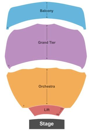 abraham chavez theatre seating chart abraham chavez theatre tickets in el paso seating