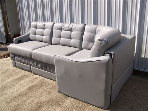 Motorhome Sofas by Rv Villa Gray L Shaped Sofa Hid A Bed Furniture