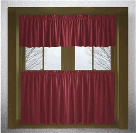 burgundy wine curtains solid burgundy wine cotton kitchen tier cafe curtains