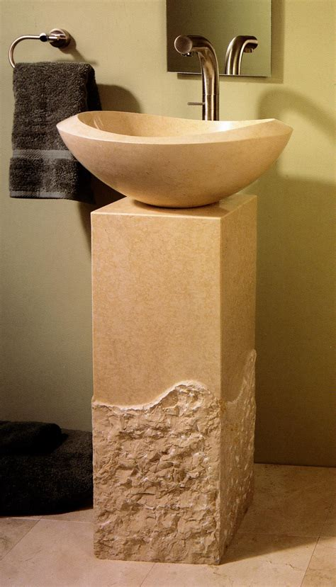 stone forest roma pedestal bath sink from home amp stone