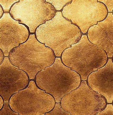 gold arabesque tile gold leaf arabesque tile home