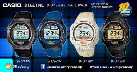 Casio W 734 1av casio digital w 734 1av memory 60 10 years