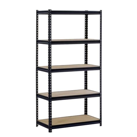edsal 72 in h x 36 in w x 18 in d 5 shelf steel
