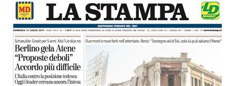 consolato italiano in grecia le prime pagine di oggi il post