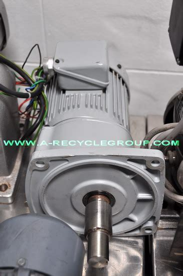 induction motor gtr gtr 3 phase induction motor g3fb 28 5 075 0 75kw 4p secondhand sold 3169069
