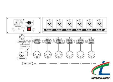 html layout splitter dmx splitter 6 way dmx amplifier dmx distributor