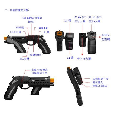 Ipega The Phantom Shox Blaster ipega the of phantom shox blaster bluetooth gun