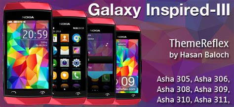 themes nokia galaxy galaxy inspired iii live theme for nokia x2 00 x2 02 x2