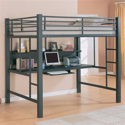 desk loft bed home design living room teen furniture