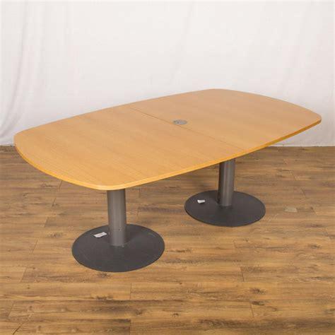 Oak Boardroom Table Kinnarps Oak Veneer 2000x1200 Boardroom Table