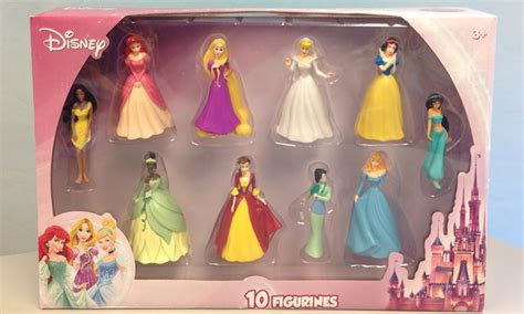 Figure Princes disney princess figurine set groupon goods