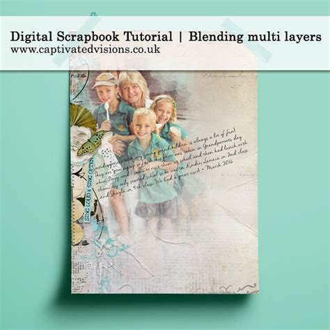 tutorial scrapbook digital 40 best images about digital art tutorials articles on