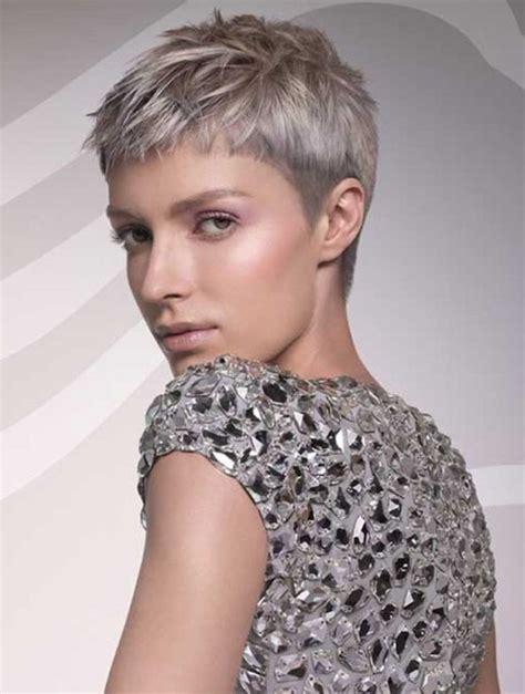 kurzhaarschnitte fuer graue haare  frisuren