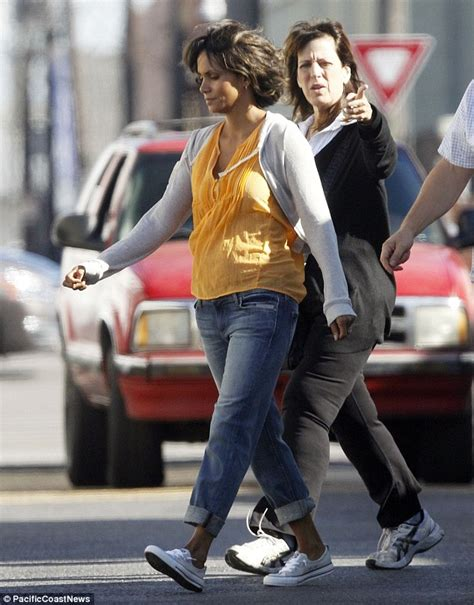 48 year old fashion halle berry films scenes for upcoming thriller kidnap in