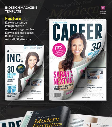 indesign template magazine cover 50 indesign psd magazine cover layout templates web