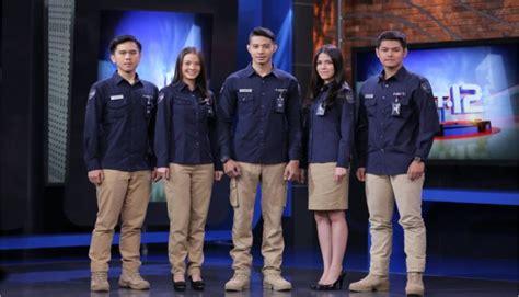 Celana Karyawan Net Tv 34pro seragam kerja konveksi seragam kantor di surabaya konveksi jaket kaos kemeja seragam