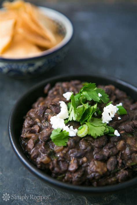 S Kitchen Refried Black Beans refried black beans recipe simplyrecipes