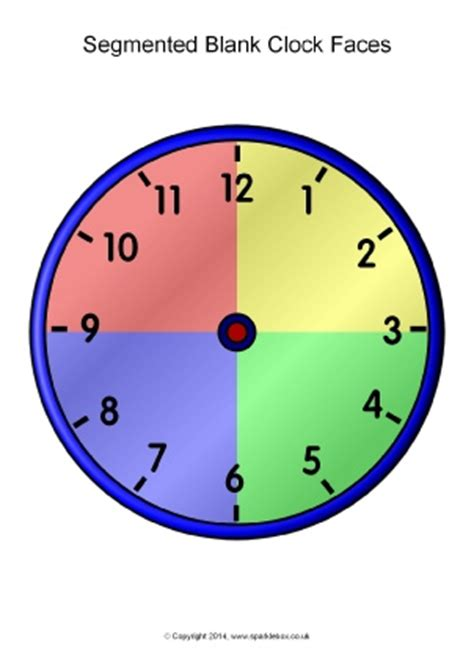 sen printable clocks time teaching resources printables for ks1 ks1
