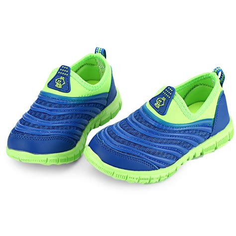 children boys mesh breathable slip on sneakers