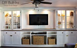 How To Build A Built In Cabinet Diy Built Ins Book Design
