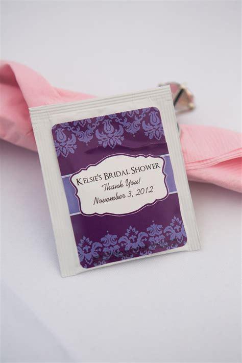 personalized bridal shower tea bags monogram tote bags monogram tea bags