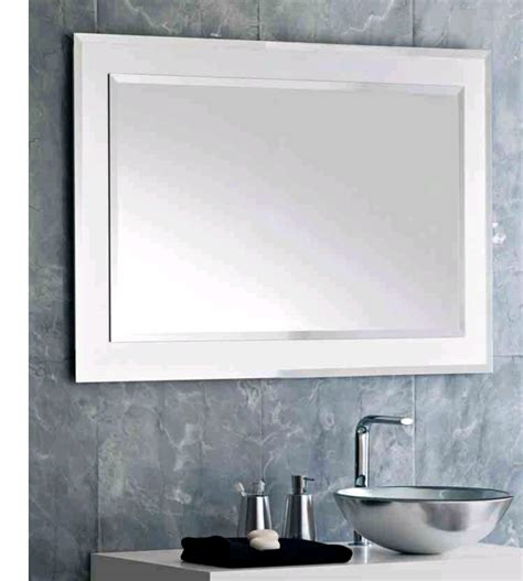 bathroom mirror with point bathroom mirrors sleek and fashionable in decors