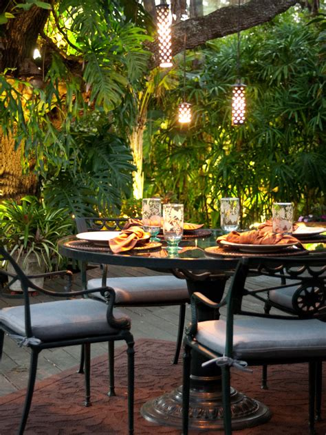 backyard dining outdoor dining room hgtv design blog design happens