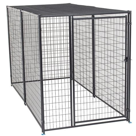 heat l for dog kennel lucky dog kennel lucky dog 2in1 galvanized chain link dog