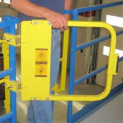 safety gate ps doors lsg 36 pcy ladder safety gate powder coat safety