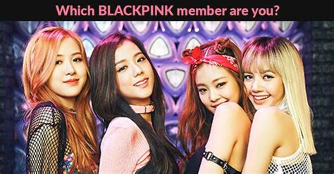 blackpink quiz which member are you wittybunny
