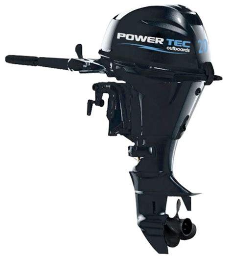 20 Tk Kode 283 power tec outboard engine 4 strokes 20 hp shaft